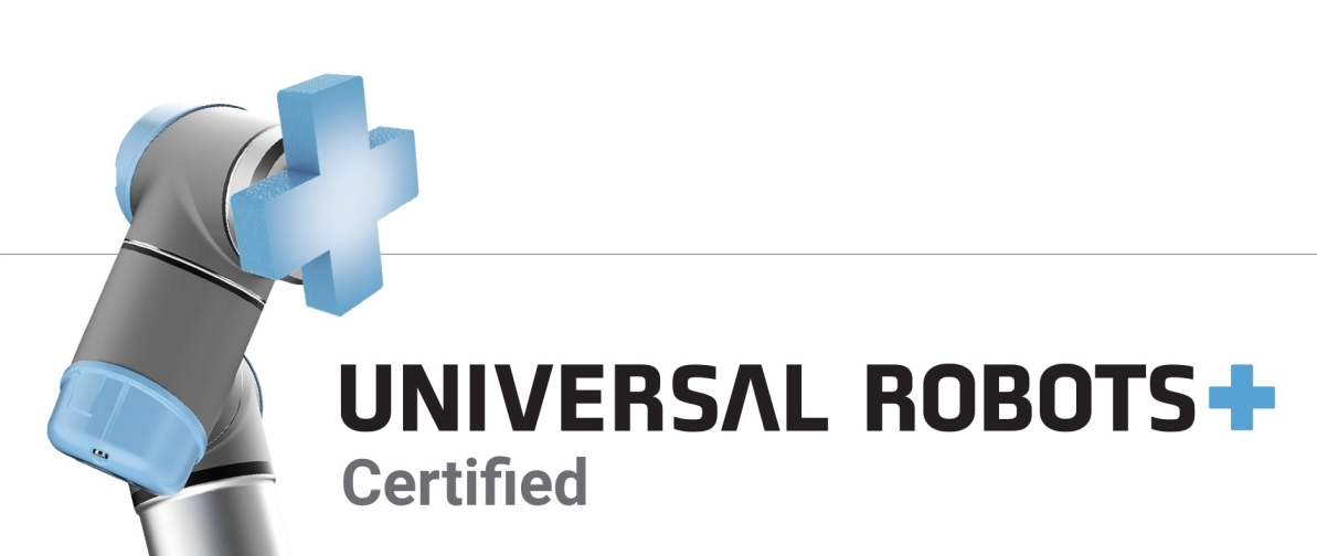Products tested, approved and certified by Universal Robots
